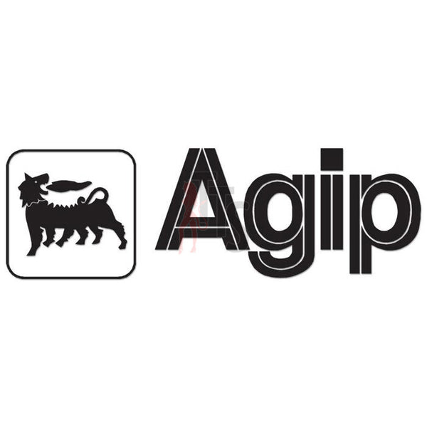 Agip Performance Racing Decal Sticker Style 1