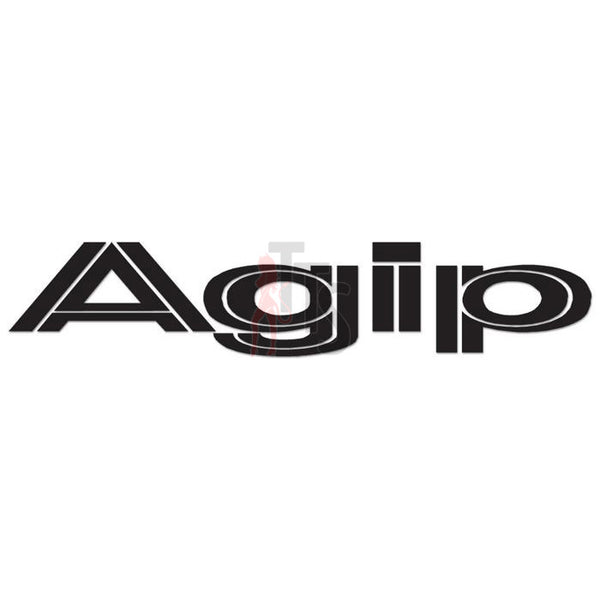 Agip Performance Racing Decal Sticker Style 2