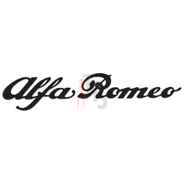Alfa Romeo Performance Racing Decal Sticker