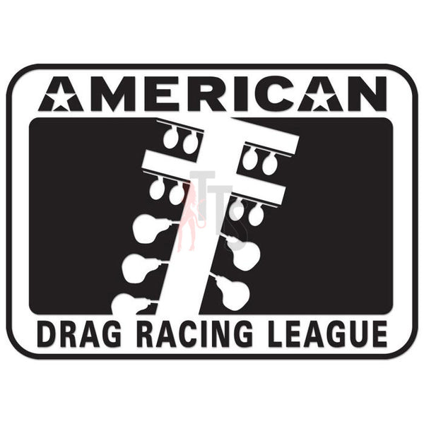 American Drag Racing Performance Racing Decal Sticker