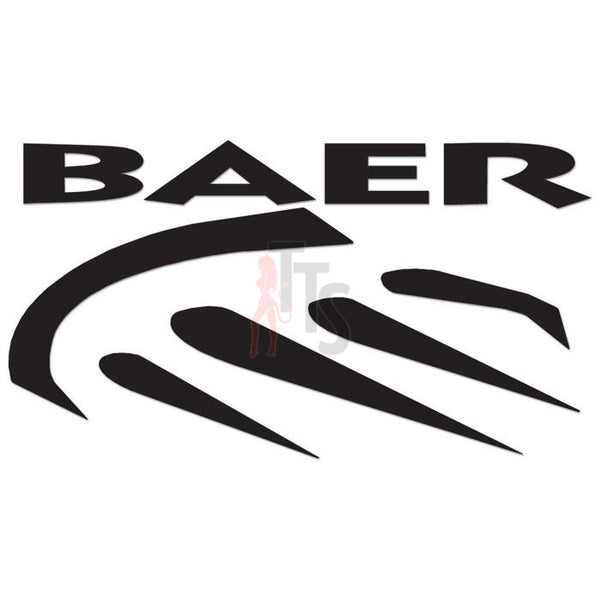 Baer Brake Systems Performance Racing Decal Sticker Style 2