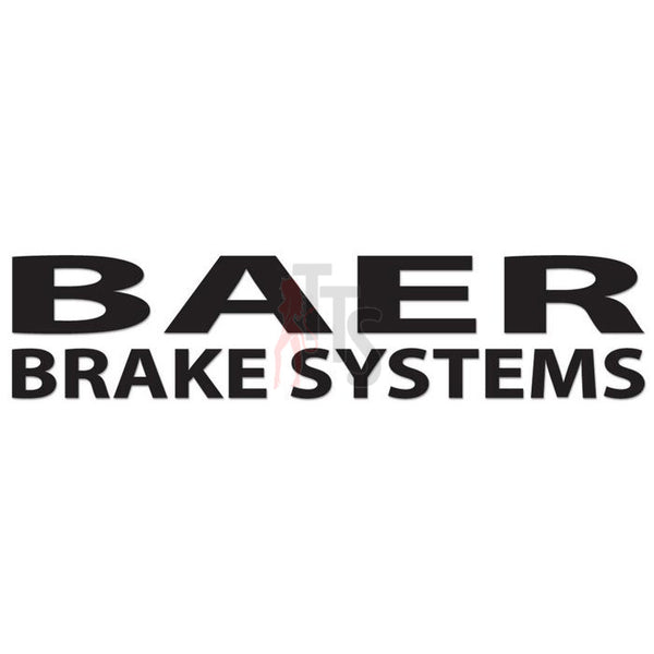 Baer Brake Systems Performance Racing Decal Sticker Style 3