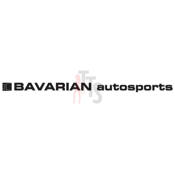 Bavarian Autosports Performance Racing Decal Sticker