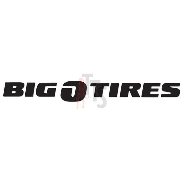 Big O Tires Performance Racing Decal Sticker
