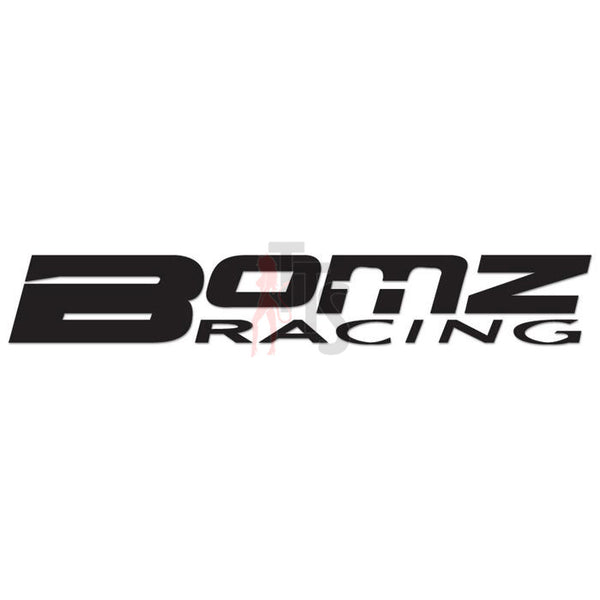 Bomz Racing Performance Racing Decal Sticker