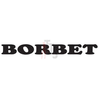 Borbet Performance Racing Decal Sticker Style 1
