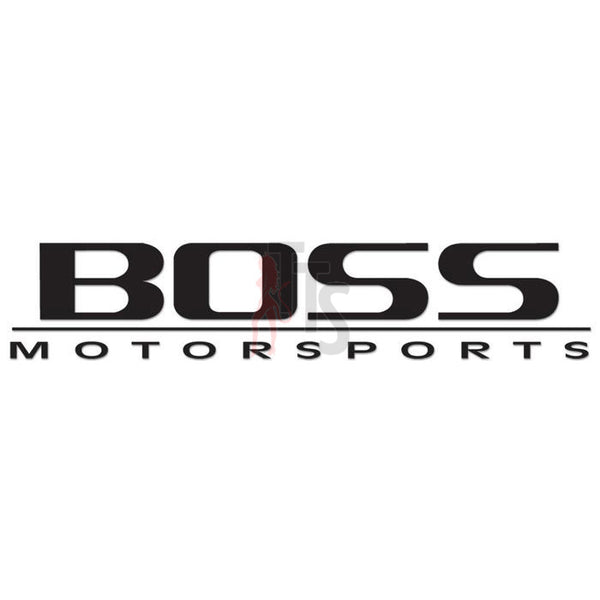 Boss Motorsports Performance Racing Decal Sticker Style 2