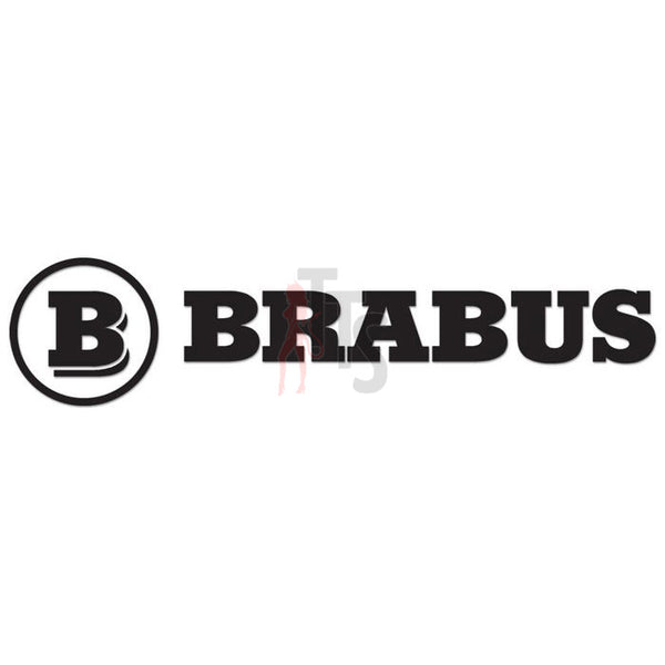 Brabus Performance Racing Decal Sticker