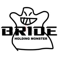 Bride Performance Racing Decal Sticker Style 2