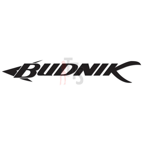 Budnik Wheels Performance Racing Decal Sticker Style 1