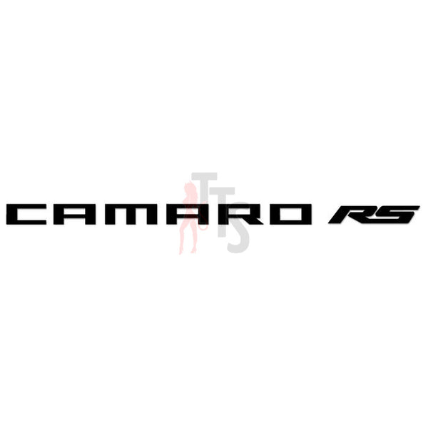 Camaro RS Performance Racing Decal Sticker