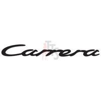 Porsche Carrera Performance Racing Decal Sticker