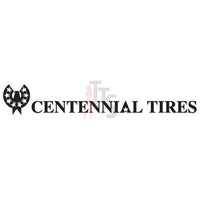 Centennial Tires Performance Racing Decal Sticker