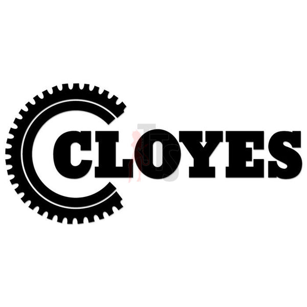 Cloyes Performance Racing Decal Sticker