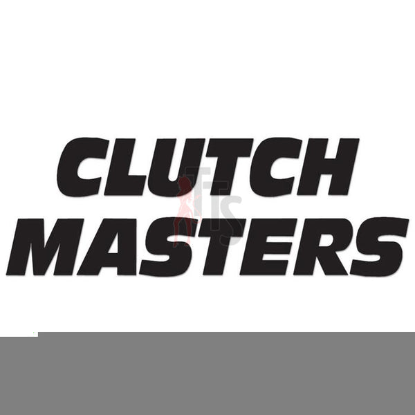 Clutch Masters Performance Racing Decal Sticker Style 1