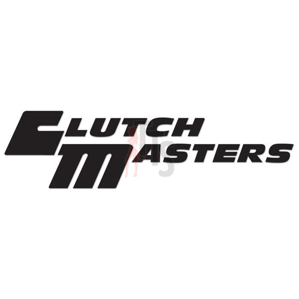 Clutch Masters Performance Racing Decal Sticker Style 3