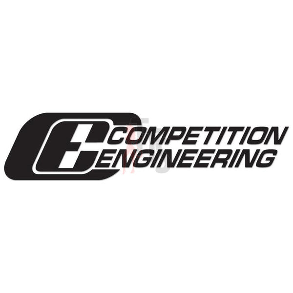 Competition Engineering Performance Racing Decal Sticker