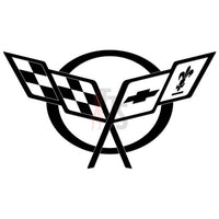 Chevy Corvette Performance Racing Decal Sticker Style 2
