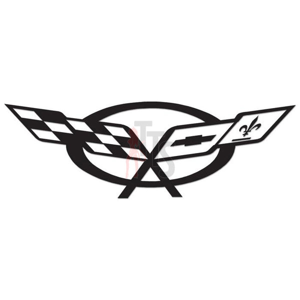 Chevy Corvette Performance Racing Decal Sticker Style 3