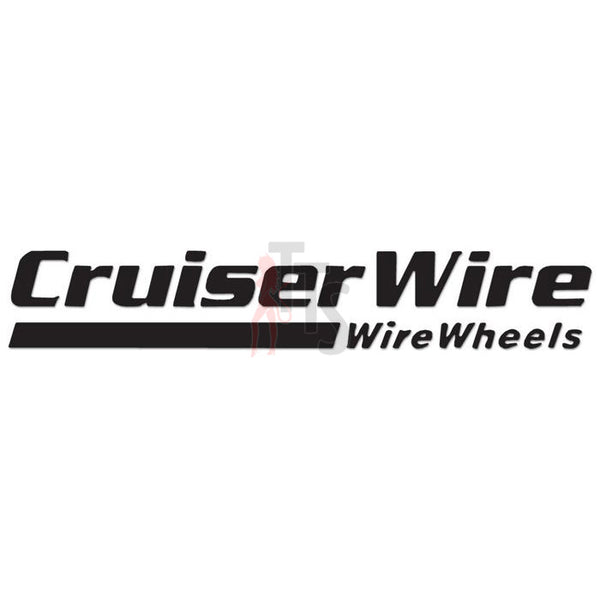 Cruiser Wire Performance Racing Decal Sticker