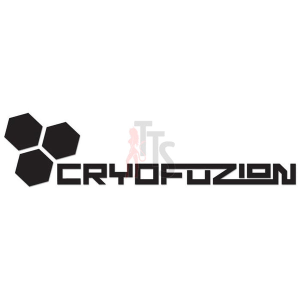 Cryofuzion Performance Racing Decal Sticker