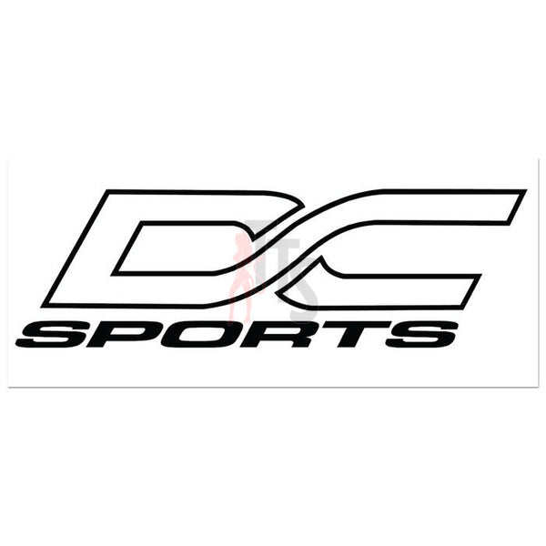 DC Sports Performance Racing Decal Sticker Style 2