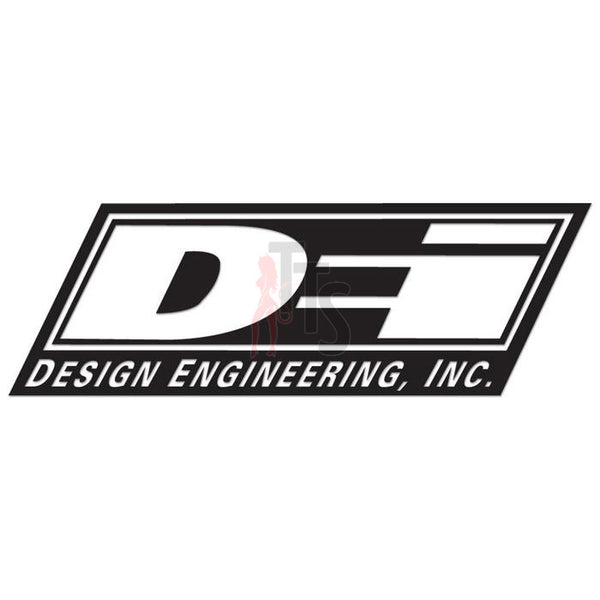 DEI Design Engineering Performance Racing Decal Sticker Style 1