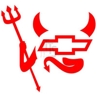 Chevrolet Devil Performance Racing Decal Sticker