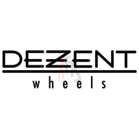 Dezent Wheels Performance Racing Decal Sticker