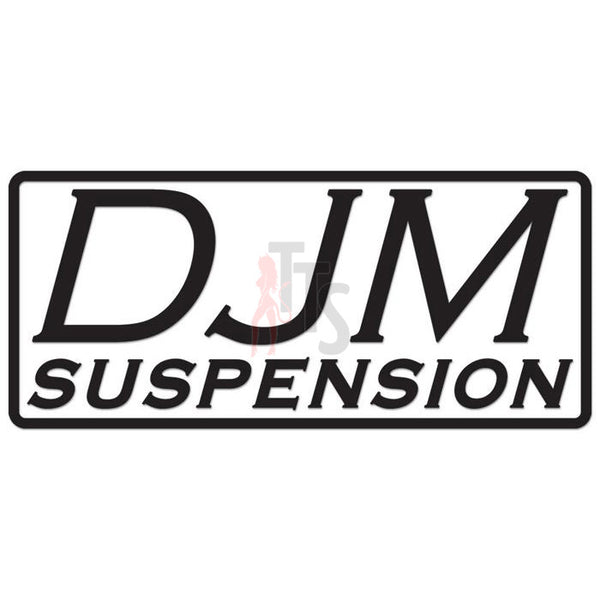 DJM Suspension Performance Racing Decal Sticker