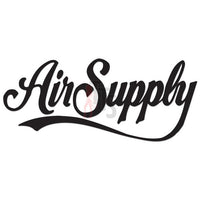 Air Supply Music Rock Band Decal Sticker