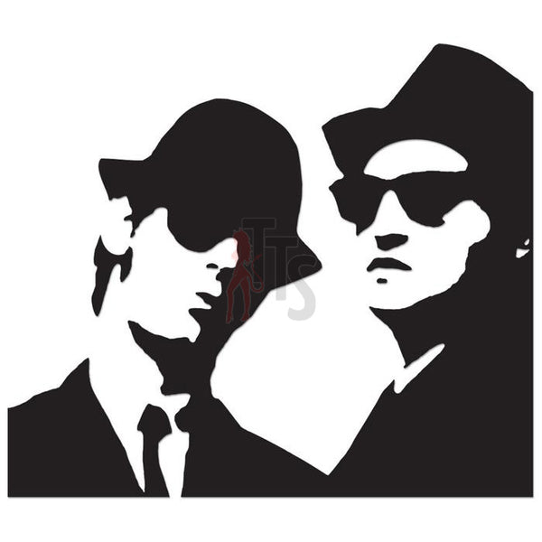 Blues Brothers Music Rock Band Decal Sticker Style 1