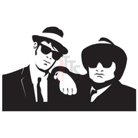 Blues Brothers Music Rock Band Decal Sticker Style 2
