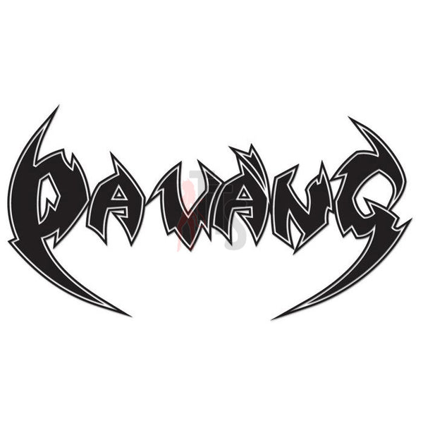 Da Vang Vietnamese Heavy Metal Music Rock Band Decal Sticker