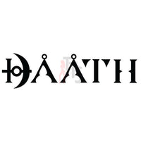DAATH Music Rock Band Decal Sticker