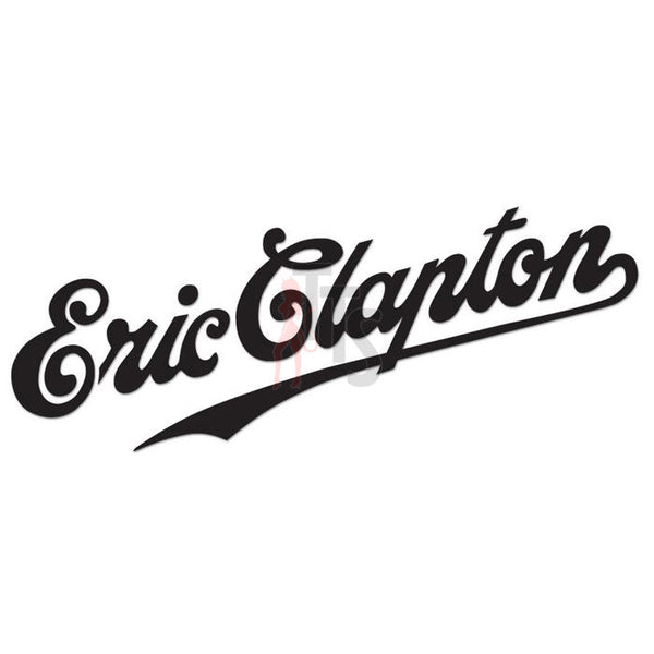 Eric Clapton Music Rock Band Decal Sticker Style 1