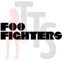 Foo Fighters Music Rock Band Decal Sticker Style 3