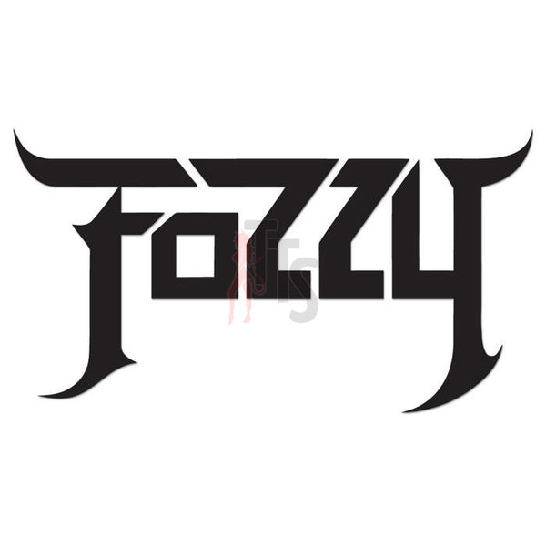 Fozzy Music Rock Band Decal Sticker