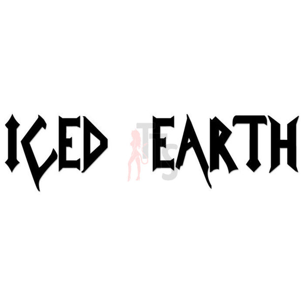 Iced Earth Music Rock Band Decal Sticker