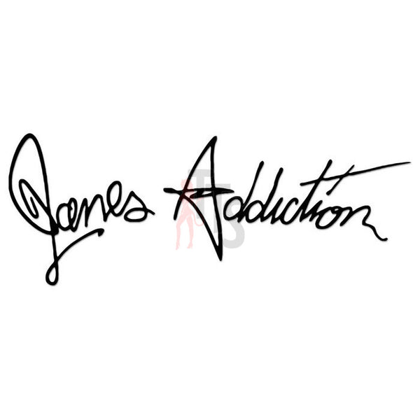 Janes Addiction Music Rock Band Decal Sticker
