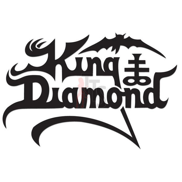 King Diamond Music Rock Band Decal Sticker