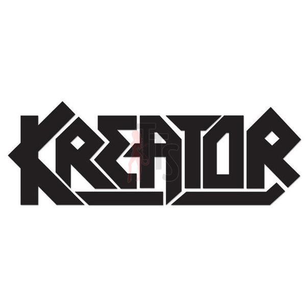 Kreator Music Rock Band Decal Sticker