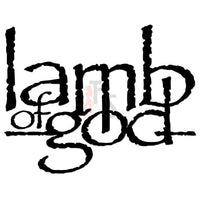 Lamb of God Music Rock Band Decal Sticker