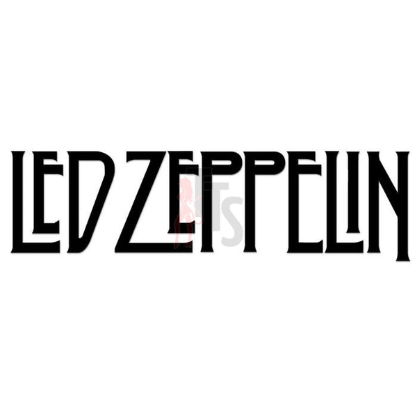 Led Zeppelin Music Rock Band Decal Sticker Style 2