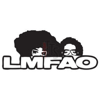 LMFAO Music Rock Band Decal Sticker