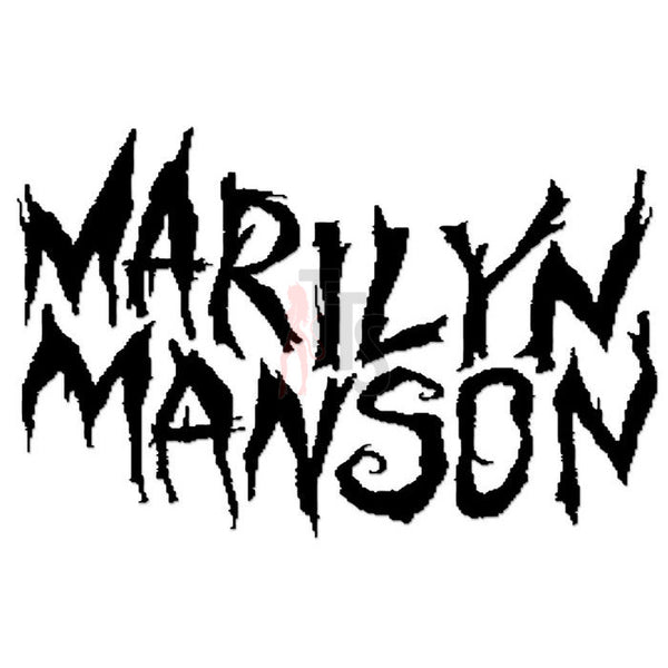 Marilyn Manson Music Rock Band Decal Sticker Style 2