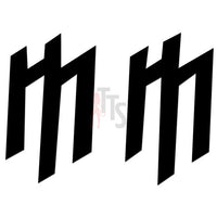 Marilyn Manson Music Rock Band Decal Sticker Style 3