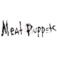 Meat Puppets Music Rock Band Decal Sticker