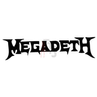 Megadeth Music Rock Band Decal Sticker