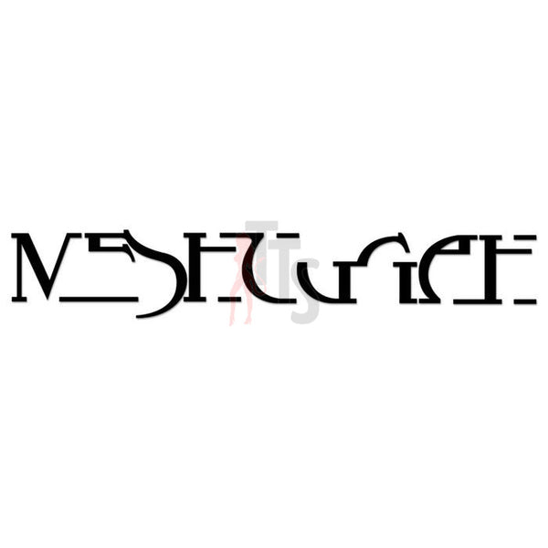 Meshuggah Music Rock Band Decal Sticker